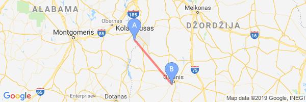 Map Of Southwest Georgia.Lawson Army Air Field Fort Benning Southwest Georgia Regioninis